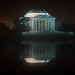 The Jefferson Memorial on a Foggy Night