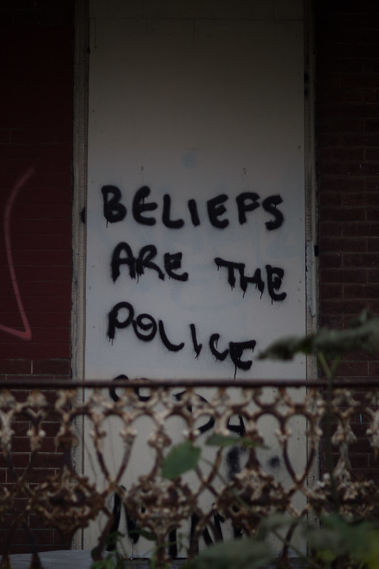 Beliefs are the police