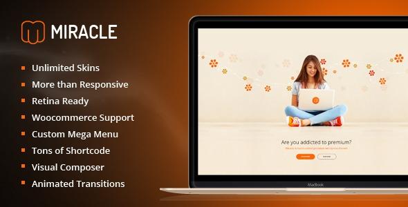 ThemeForest Miracle v1.1.5 - Responsive Multi-Purpose WordPress Theme