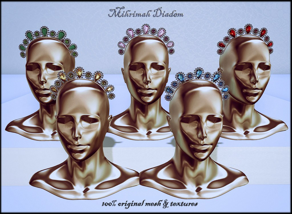 Mihrimah Diadem by ChicChica OUT @ The Fantasy Collective event