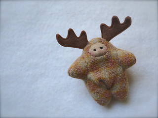 REINDEER -Tan Mauve Plaid: tan