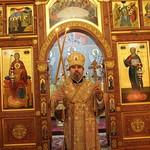 Литургия в кафедральном соборе Новороссийска