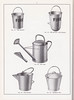 Eliza Tinsley & Co Ltd, Old Hill, Staffordshire - catalogue of galvanised hollow-ware, c1950 - fire buckets, tar cans and garbage pails