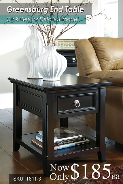 Greensburg End Table