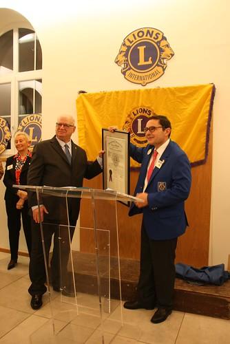 Remise de Charte Lions Club St Pee sur Nivelle