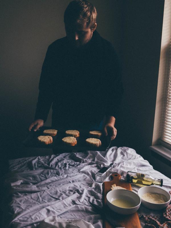 Vinny Parmesan Bread
