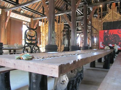 Chiang Rai: peau de serpent