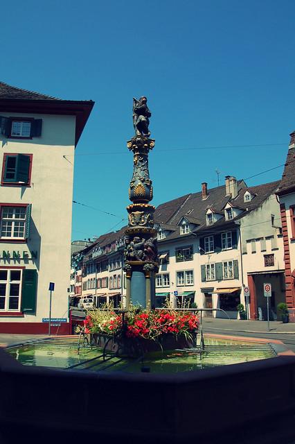Holbein-Brunnen, Basel, CH