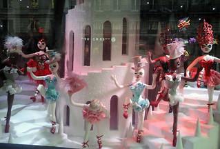 Louboutin-Schaufenster