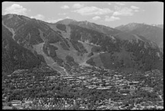 downtown and Aspen Mountain