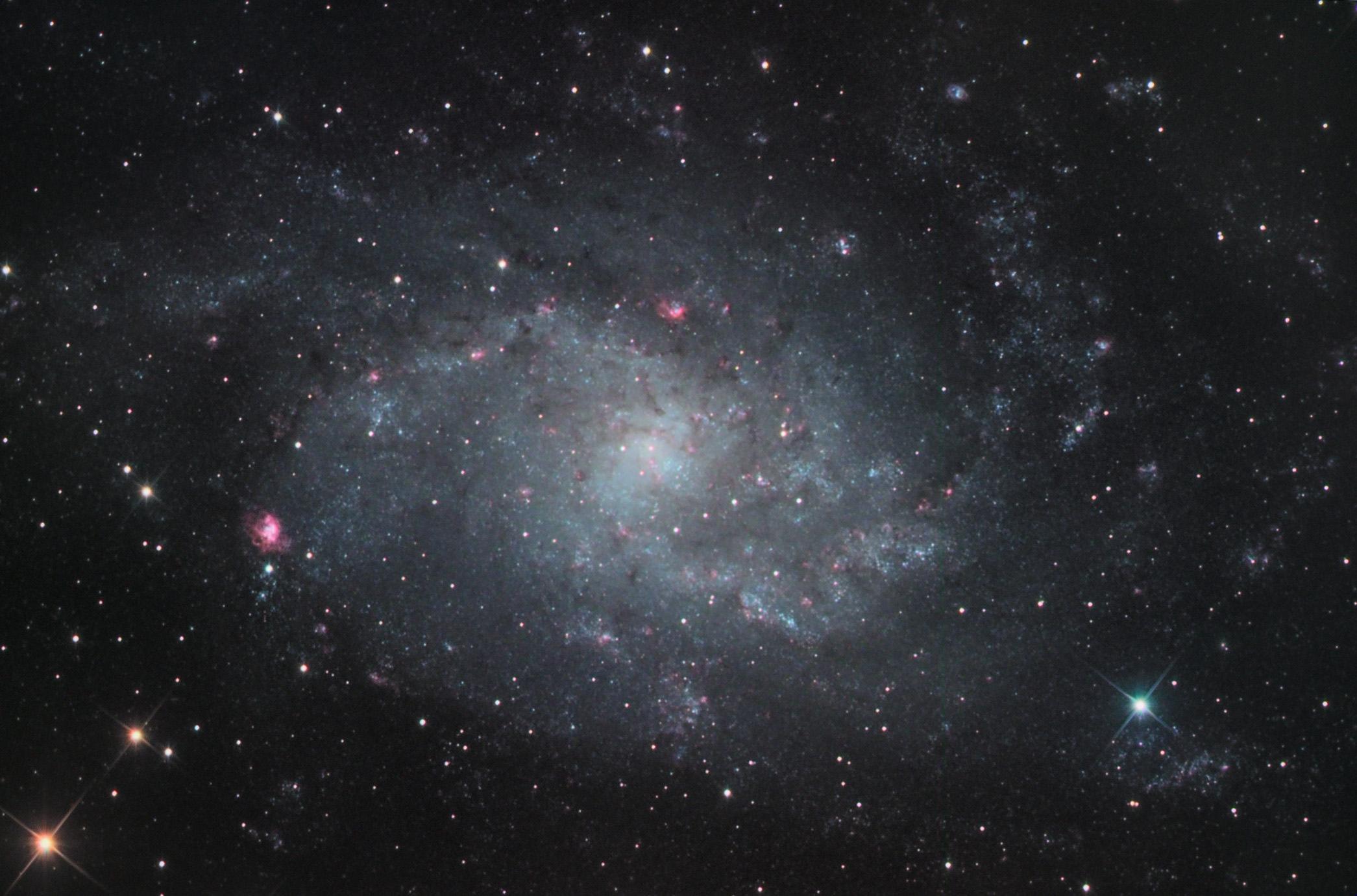 ngc 604, une nébuleuse extra-galactique ! 30253665096_424eb5ffe1_o