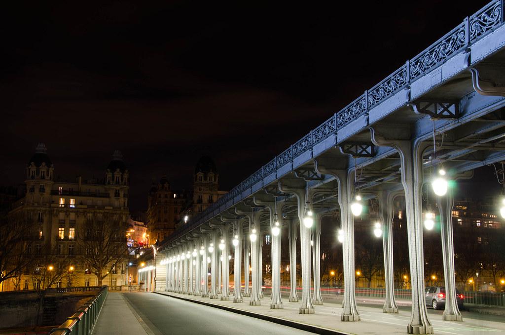 Pont de Bir Hakeim - Nocturne