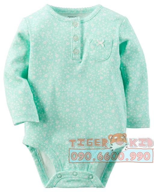 Quần áo trẻ em, bodysuit, Carter, đầm bé gái cao cấp, quần áo trẻ em nhập khẩu, Bodysuit Carter's nhập Mỹ chính hãng 3M-24M