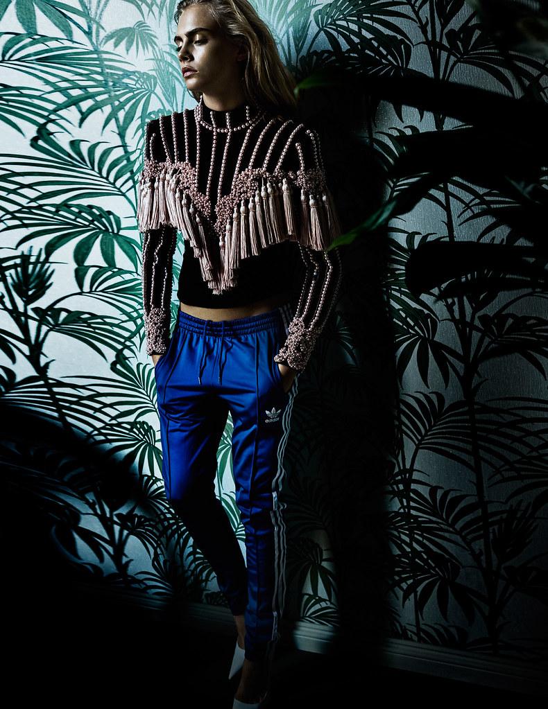 Кара Делевинь — Фотосессия для «Vogue» UK 2016 – 5