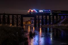 CN Christmas Express, St Albert, Alberta