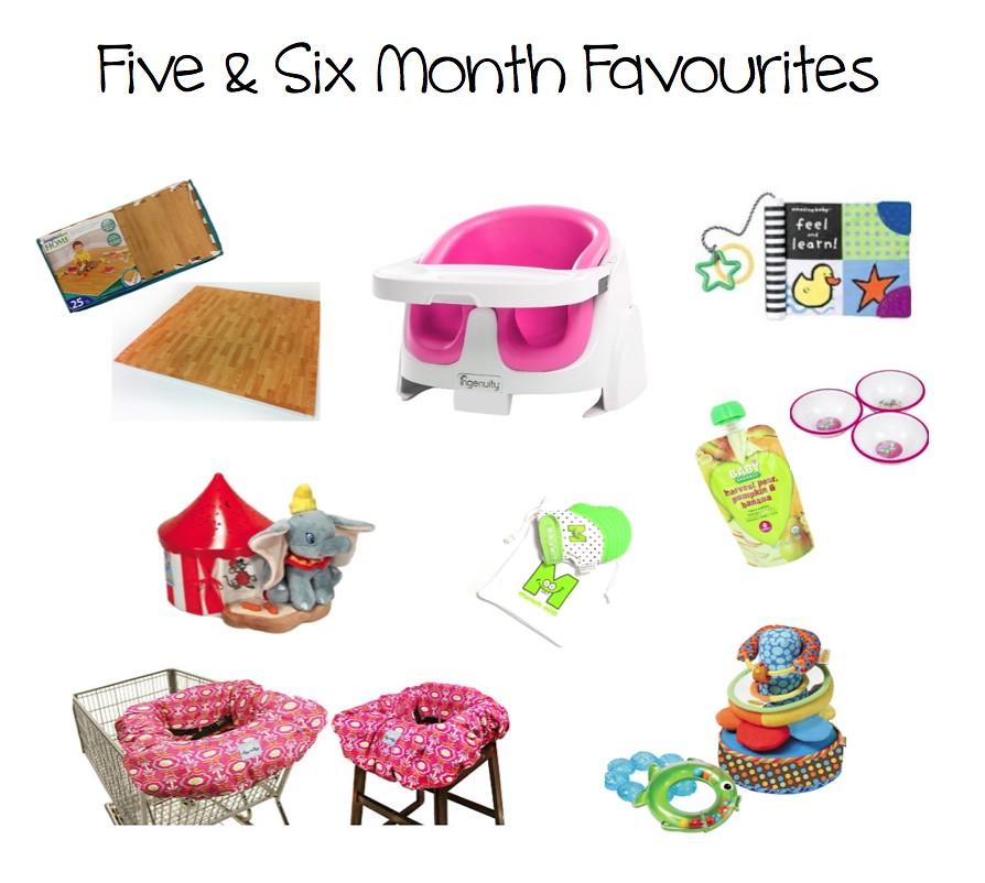 Five&SixMonthFavourites