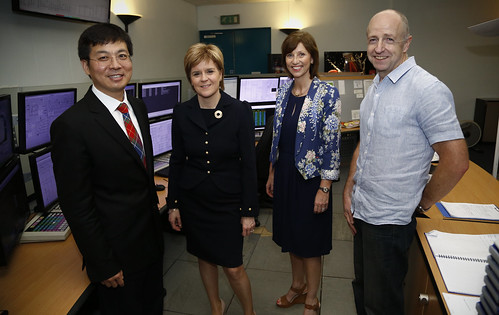 First Minister visit to Grangemouth Refinery