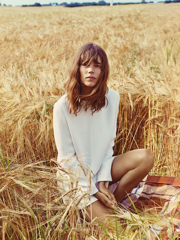 Freja Beha Erichsen By Cass Bird For Uk Vogue January 2014