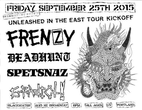 9/25/15 Frenzy/DeadHunt/Spetsnaz/Eradict