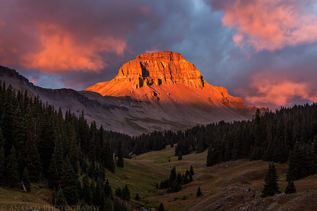 Uncompahgre Peak Sunrise