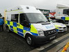 PX60BDF Cumbria Contabulary Police Ford Transit Collision Investigation Unit by graham19492000
