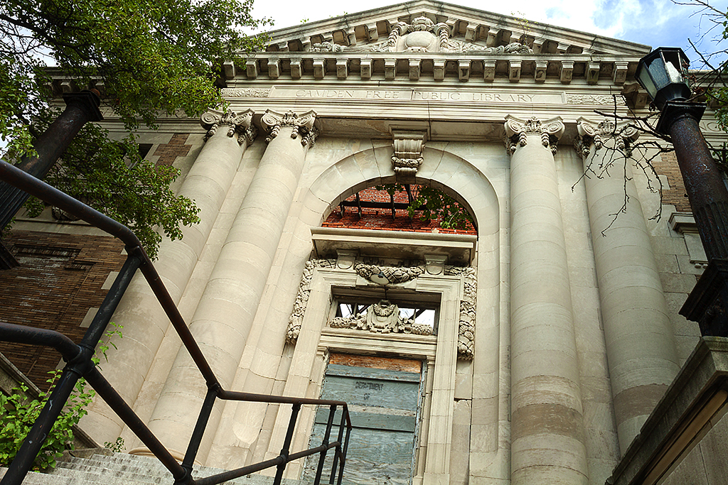 Carnegie Library on 8-27-15--Camden