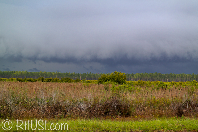 Storm coming in, St. Joseph Peninsula, Port St. Joe, Florida