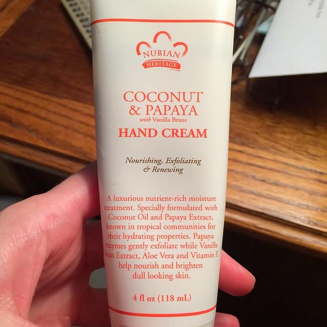 yummy hand cream