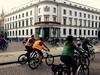 Fahrradkorso am Landtag