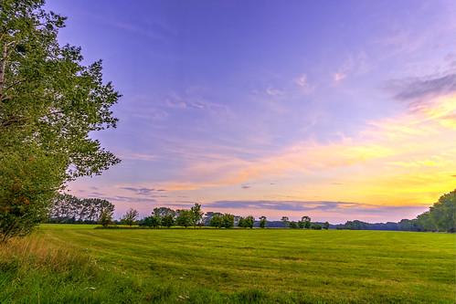 Sonnenuntergang bei Käcklitz