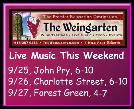 The Weingarten 9-25 thru 9-27-15