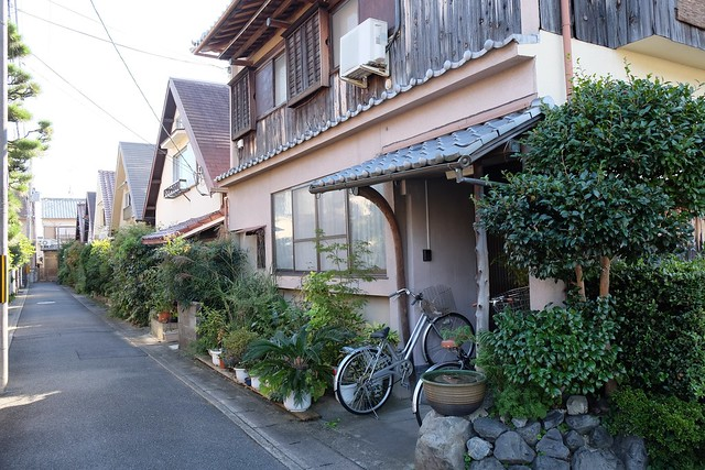 Back streets of Arashiyama