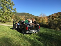 Group of Friends on a DiamondBack Truck Cover