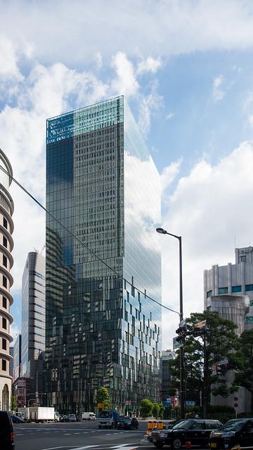 General view of Fukoku Mutual Life Insurance Company Osaka Building (大阪富国生命ビル)