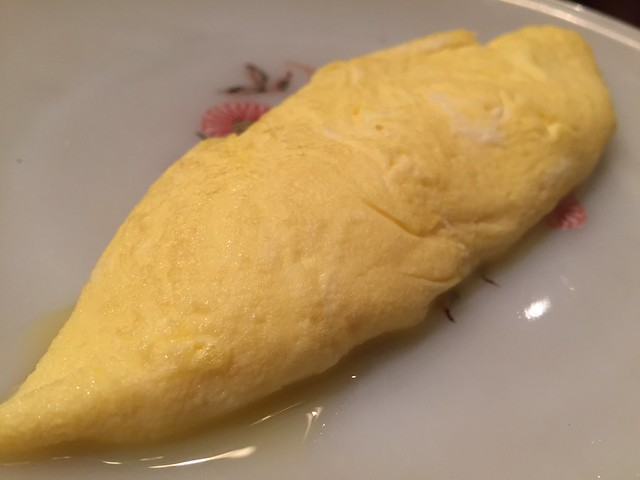 Omelette today