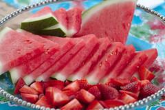 watermelon, breakfast, strawberry, fruit, food, cuisine,