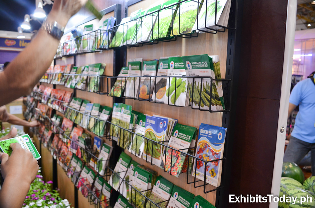 Fruits and vegetable seeds for purchase at Known You Seed Booth