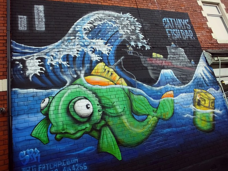 Cathays Fish Bar by SPK