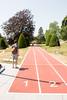 День 7. Олимпийский музей в Лозанне - или пробежать по дорожке, а на столбиках справа будут загараться огни со скоростью олимпийских чемпионов.