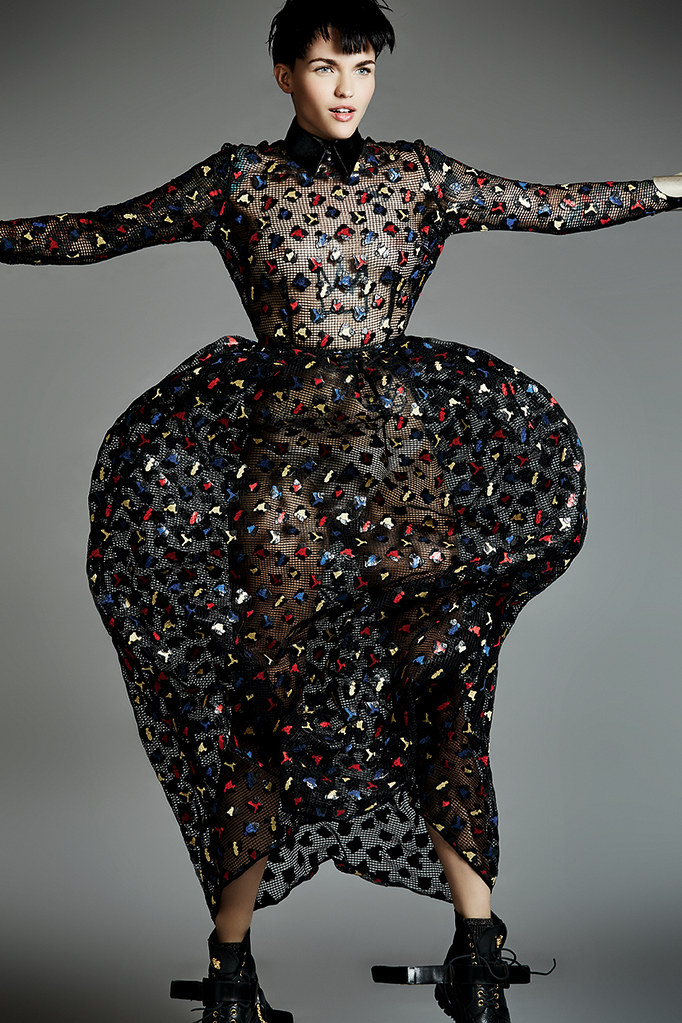 Руби Роуз — Фотосессия для «The Untitled» 2015 – 9