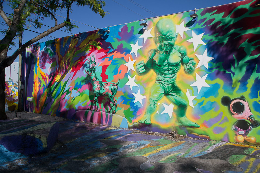 Wynwood Walls Graffiti Art in Miami