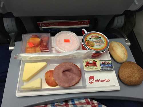Breakfast @ Air Berlin flight