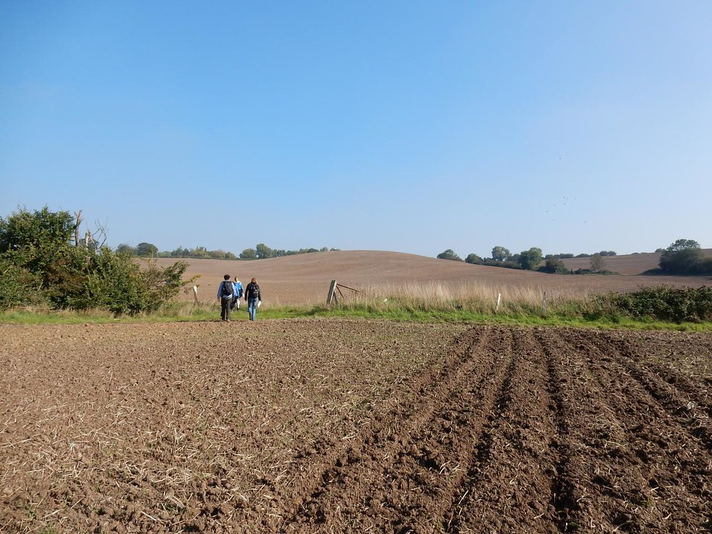 Big Field (ploughed) South Woodham Ferrers Circular Luckily it hadn't been raining.