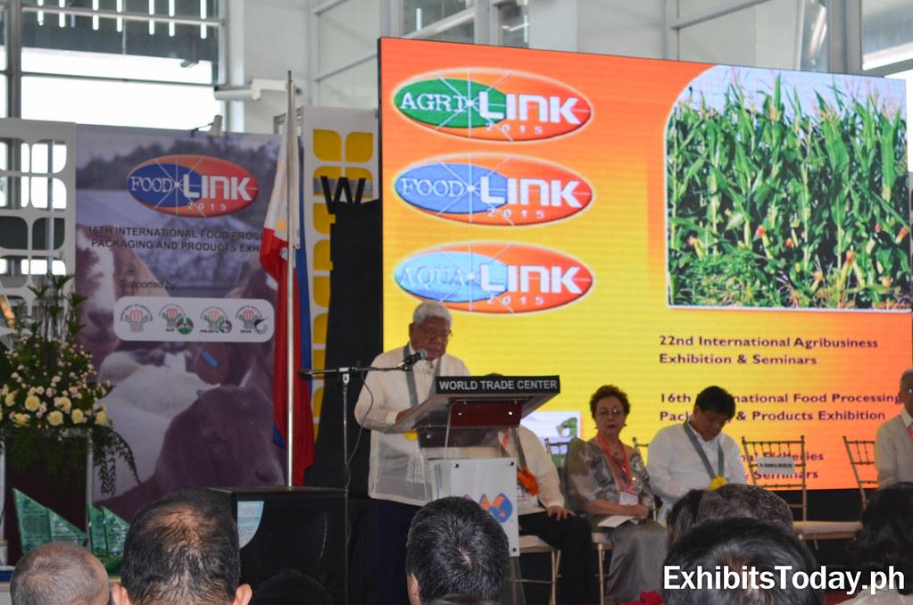 Agrilink Foodlink Aqualink Opening Ceremony