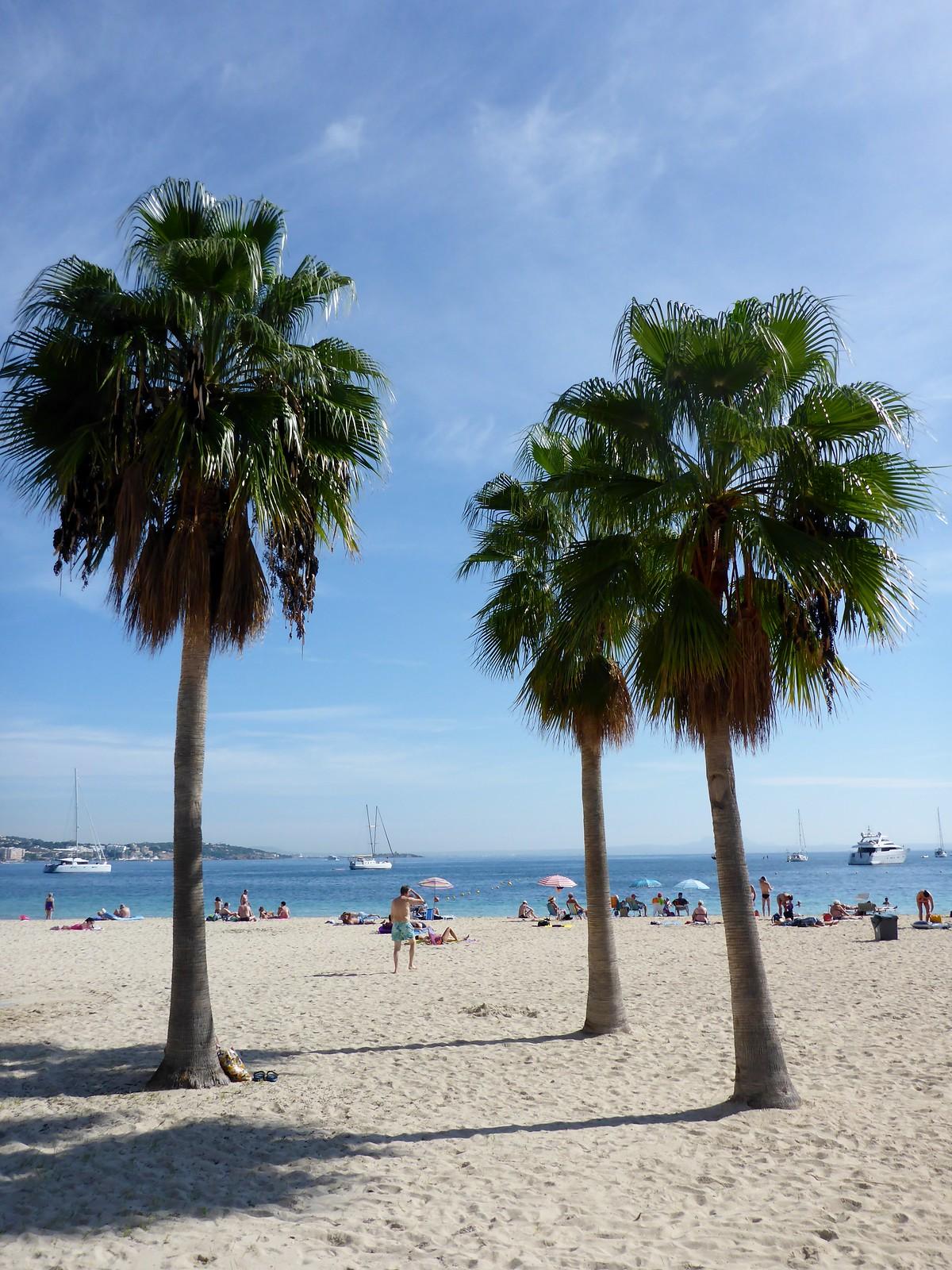 am Strand von Palma de Mallorca