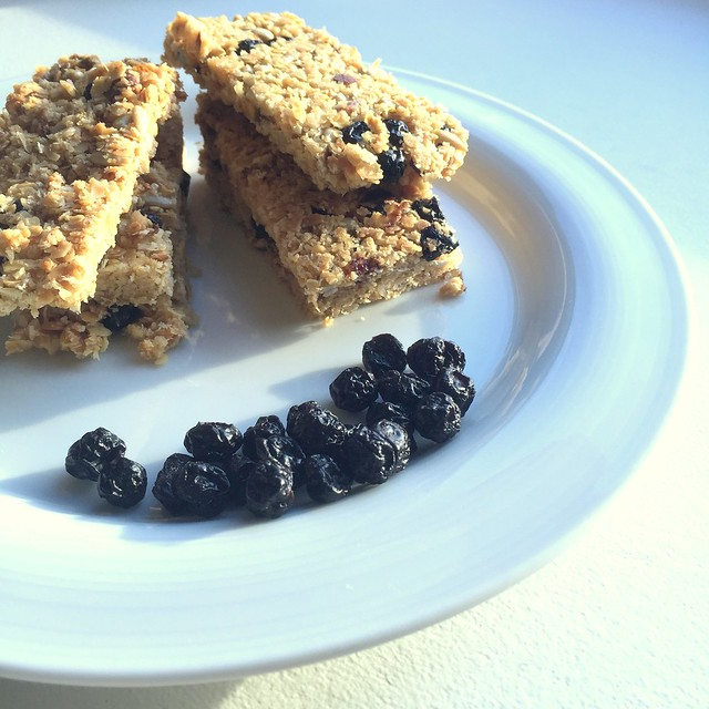 Granola bars from side by little luxury list