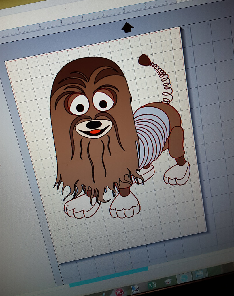 Woody Solo Costume in Progress: Slink/Chewbacca Treat Bag