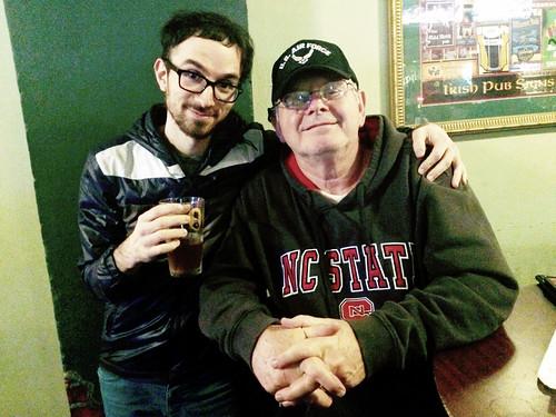 Dad and I (November 26 2014)