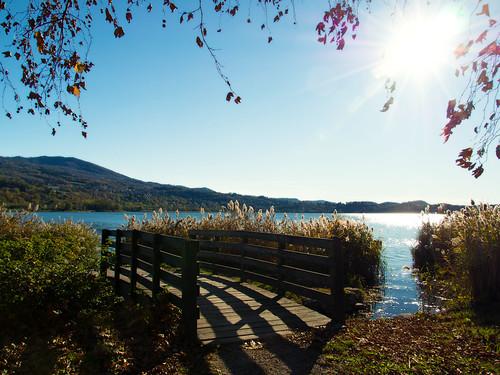 passeggiata al lago