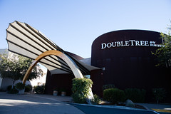Entrance to the Doubletree